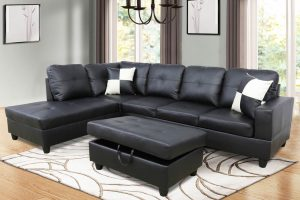 best built sectional sofas black