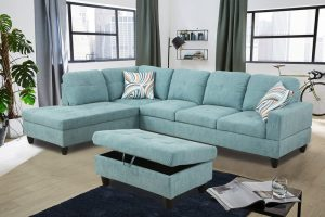 best low price sectional sofa Turquoise