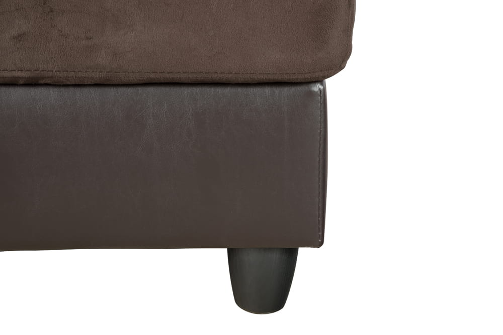 Gazel 103.5'' Sectional Sofa with Storage Ottoman, Right Hand & Left Hand Facing by Ainehome9