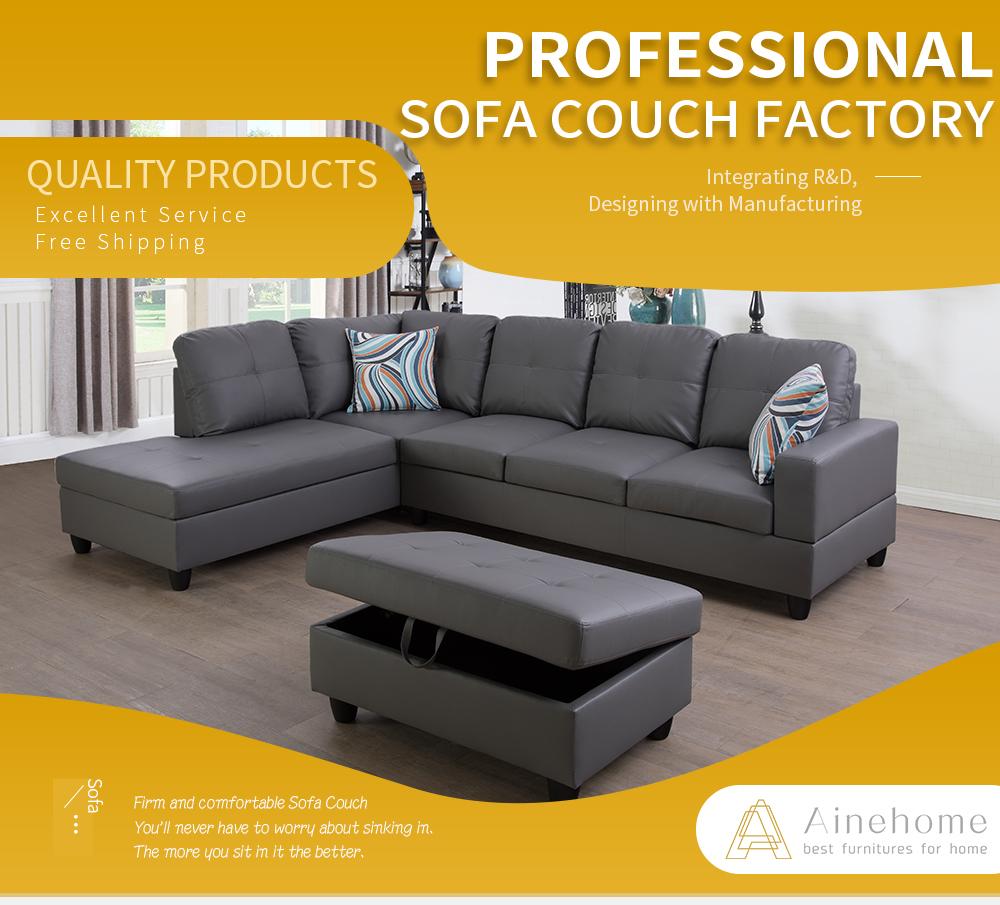 US Classic Sectional Sofa