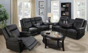 american furniture recliner spring black