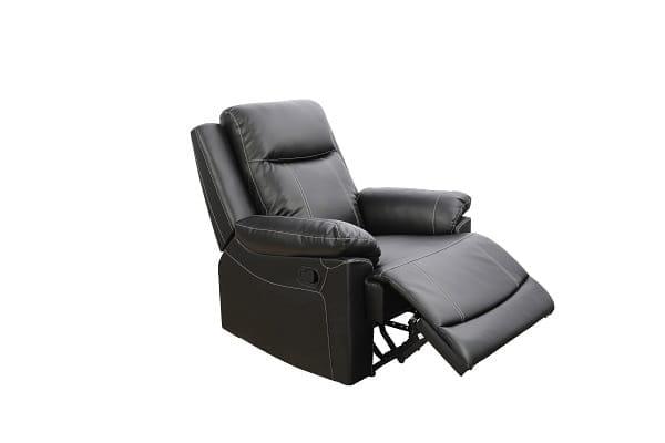 american furniture recliner spring black chair