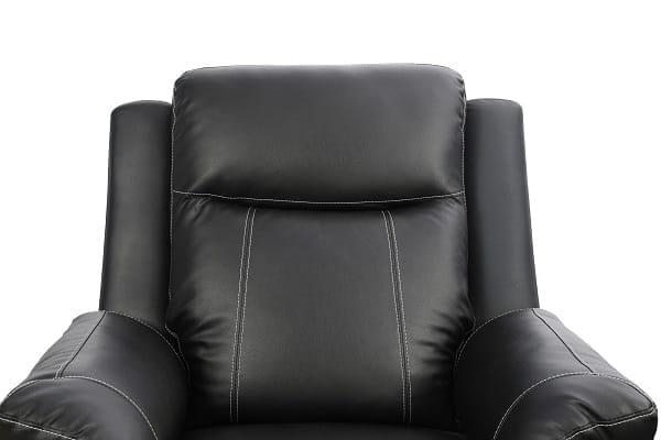 american furniture recliner spring black cushion
