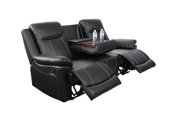 american furniture recliner spring black sofa 1
