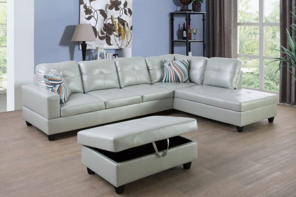 american made leather sectional sofa right