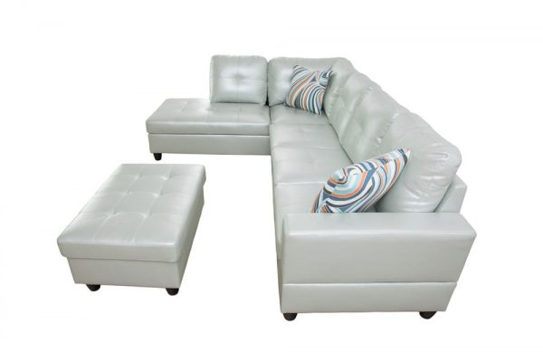 american made leather sectional sofas side