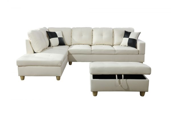 best 3-4 person sectional sofa front