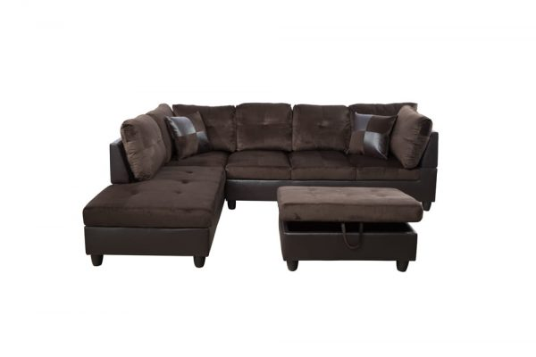 best buy sectional sofa front