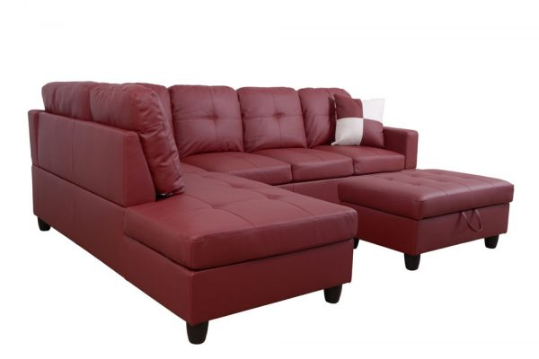 best comfortable and plush sectional sofa back