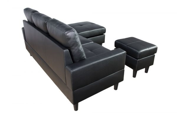 best deals on leather sectional sofas back