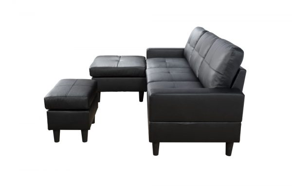 best deals on leather sectional sofas side
