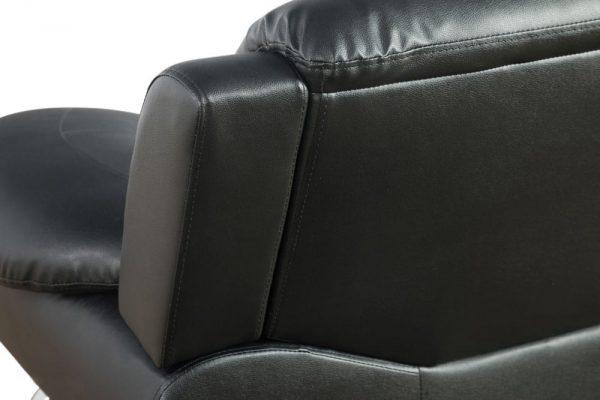 best living room sets leather sectional detail back