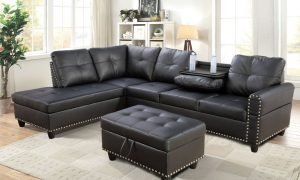 best modern leather sectional sofa