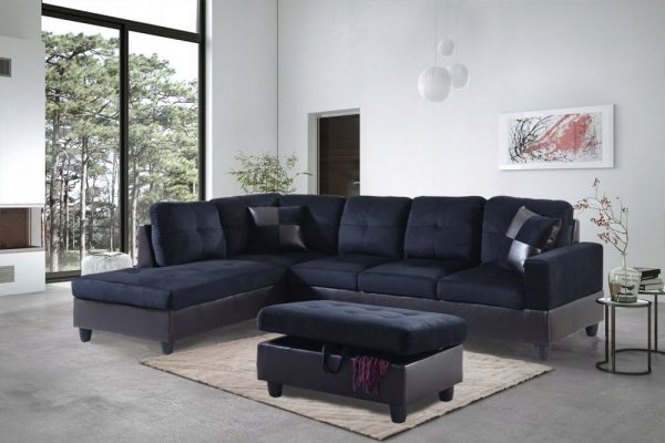 best place to buy microfiber sectional sofa