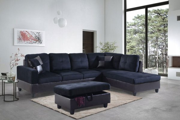 best place to buy microfiber sectional sofa right