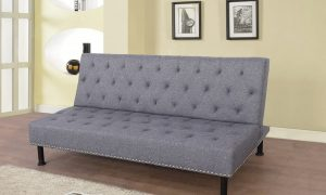 best sectional living room sets with stud details gray