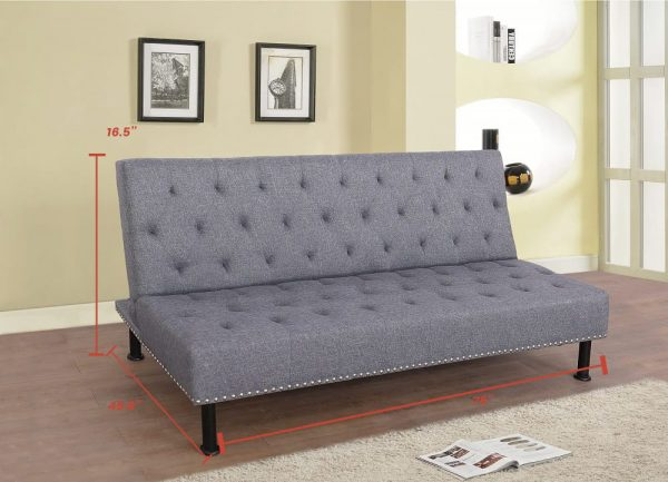 best sectional living room sets with stud details gray size