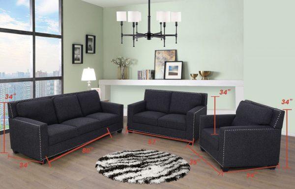 best sectional microfiber living room sets size