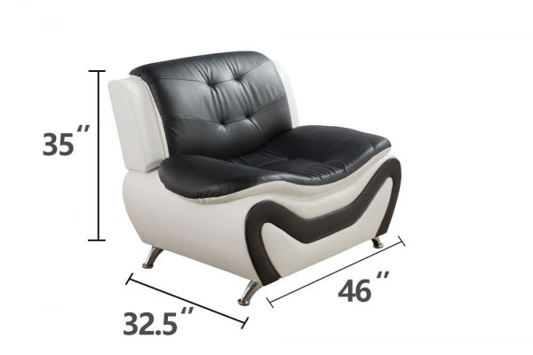 best value leather sectional living room sets chair size