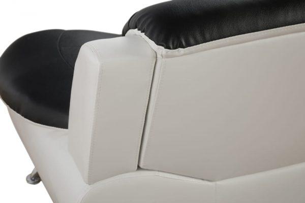 best value leather sectional living room sets detail back