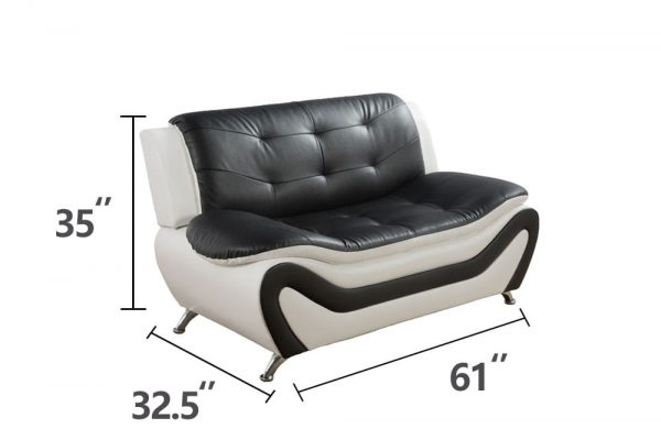 best value leather sectional living room sets loveseat size