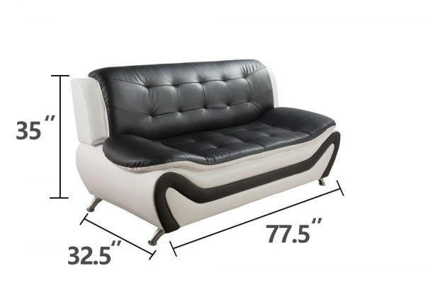 best value leather sectional living room sets sofa size