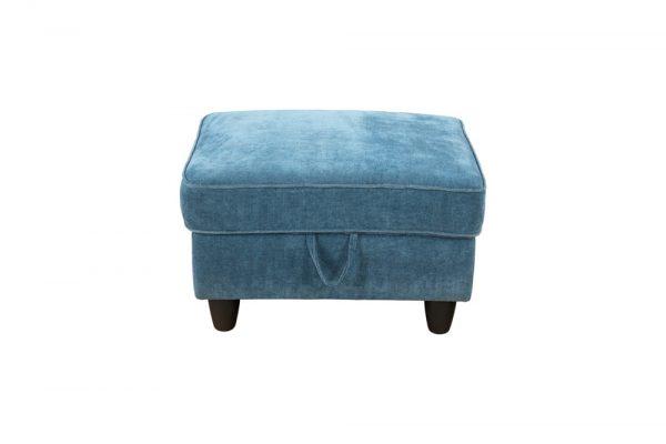 blue modular sectional sofa storage