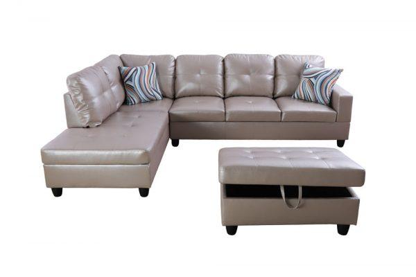 buy modern sleeper sectional sofa front