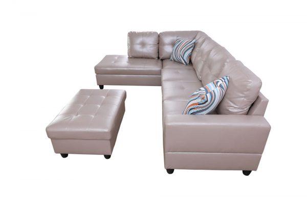 buy modern sleeper sectional sofa side