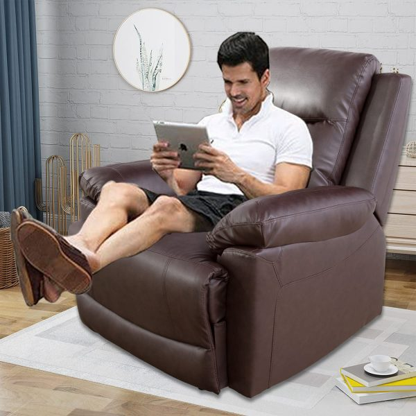 elegant recliner chair man