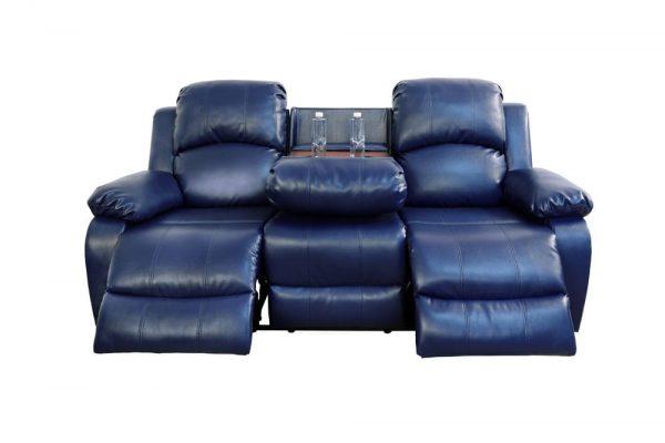 elran leather reclining sofa 1