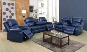 elran leather reclining sofa