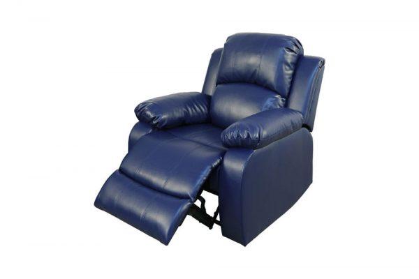 elran leather reclining sofa chair 1