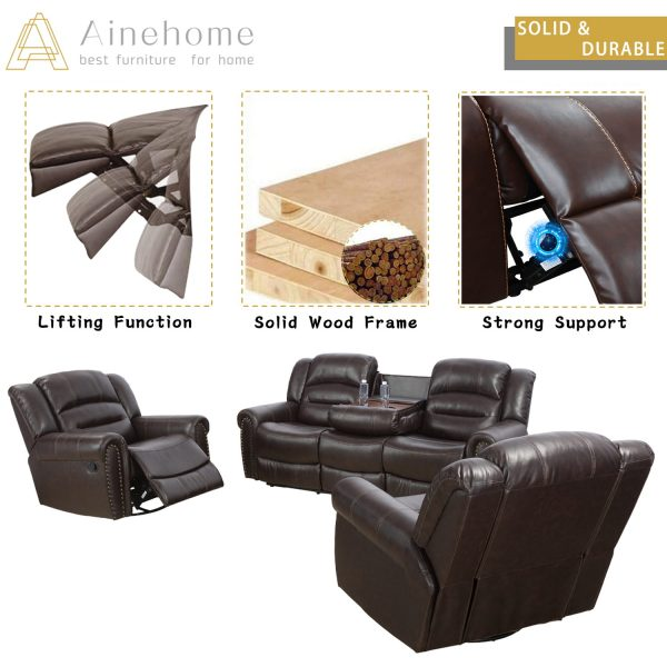 furniture world recliners material