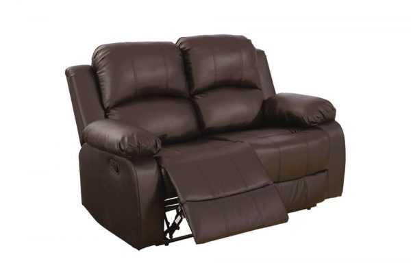 leather reclining loveseat US loveseat 1