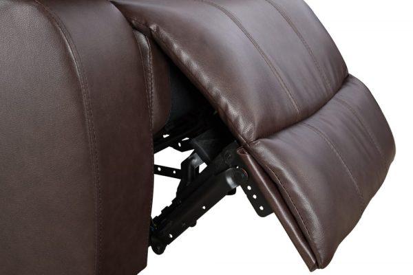 leathercraft recliner detail 2