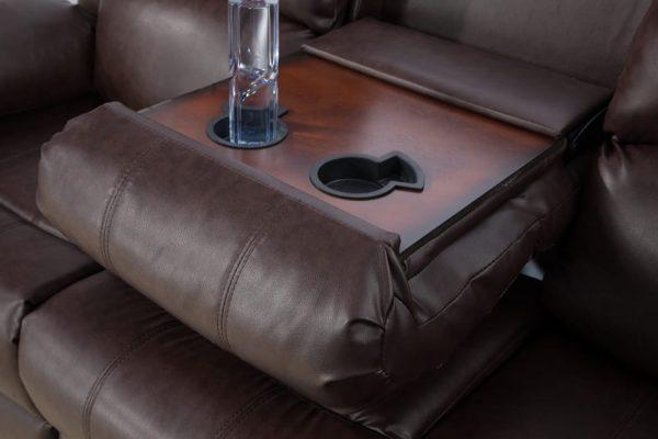 leathercraft recliner detail