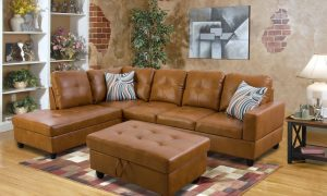 modern-brown-leather-sectional-sofa-front- sences