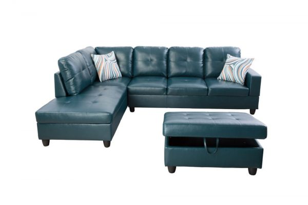 modern leather sectional sofas with chaise front