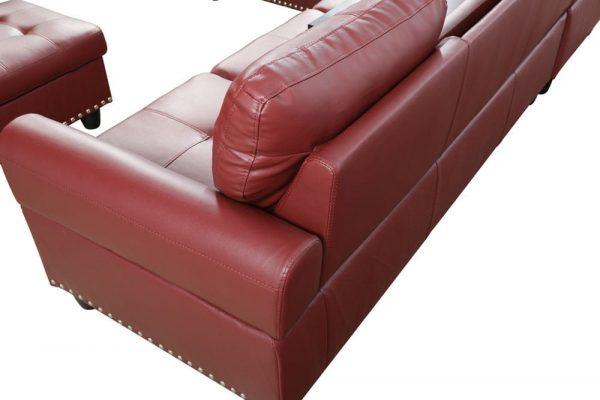 modern leather sleeper sofa sectional