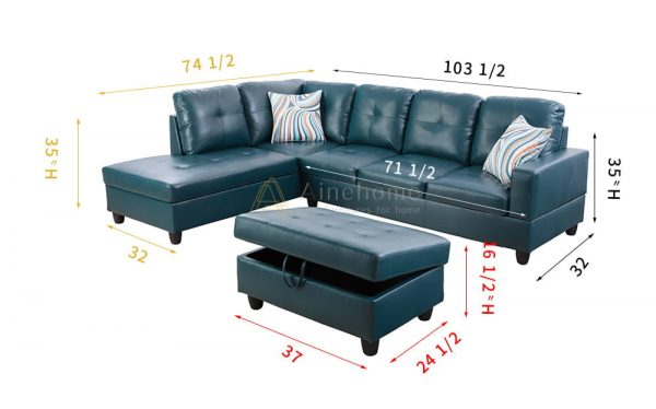 modern leather sofa sectionals