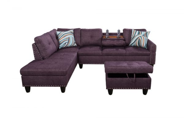 modern sectional sofa designs front