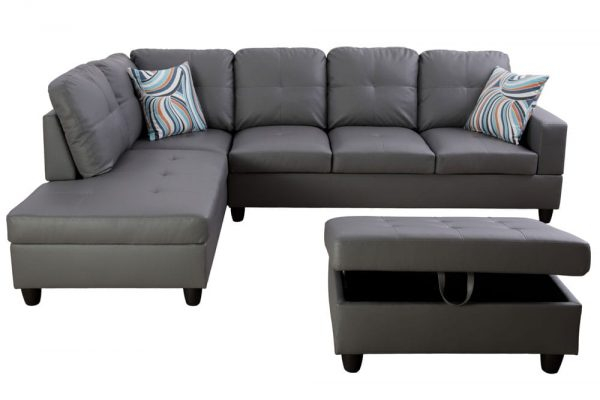 modern sectional sofas atlanta front