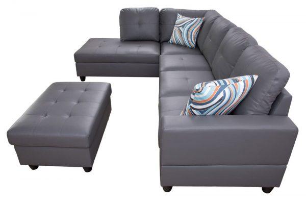 modern sectional sofas atlanta side