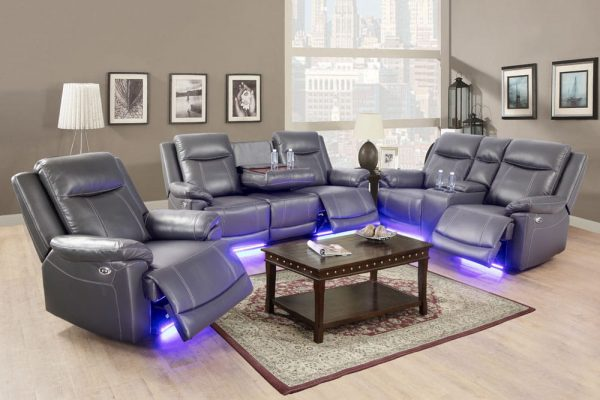 oversized leather rocker recliner