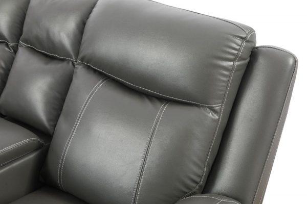 oversized leather rocker recliner cushion