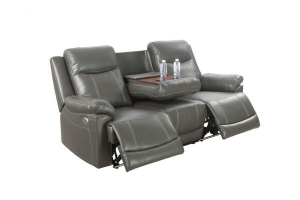 oversized leather rocker recliner sofa