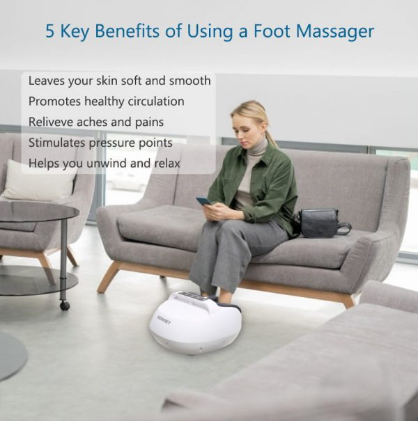 tapping foot massager benefits