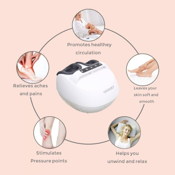 tapping foot massager relief pain