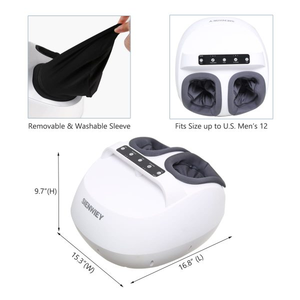 tapping foot massager size